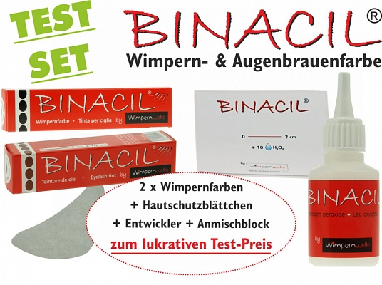 Wimpernfarbe Binacil Test Set